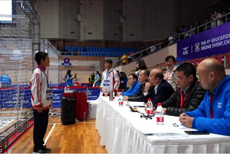 新皇冠线路:第四届全国青少年无人机大赛在上海大学开幕