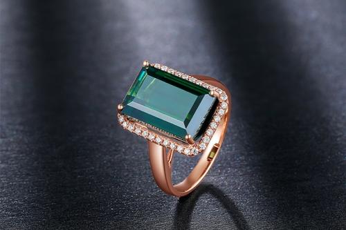 凯德·朱诺KINDHEARTED JUNE自然风格系列珠宝,深邃梦境中的奢华绿