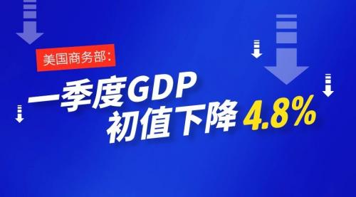 《美国GDP跌幅创11年记录 现货黄金打通盈利新渠道》