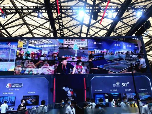 灵境世界科技作为联通5G技术合作伙伴参加ChinaJoy