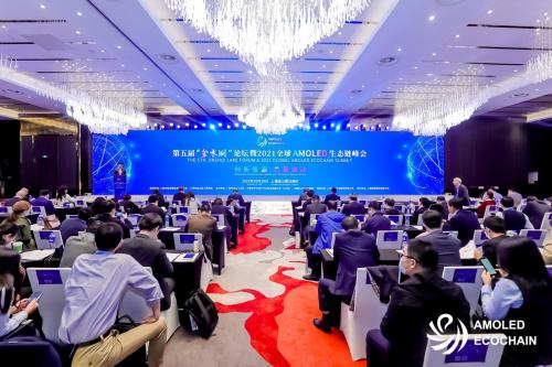 2021全球AMOLED生态链峰会成功召开,行业大咖共商显示发展未来