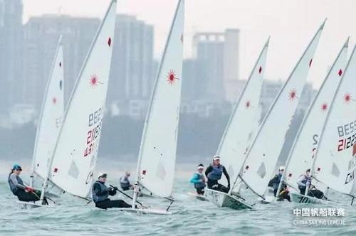 风浪之中显英勇,铭泰体育祝贺中国帆船联赛圆满结束