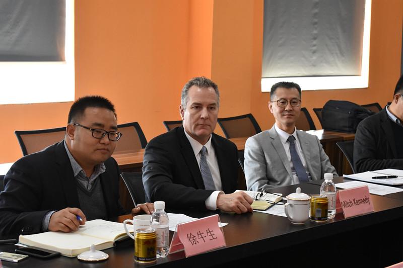 賽默飛色譜與質譜業務部全球總裁訪問斯坦德集團,深化戰略合作