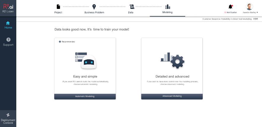 R2.ai重磅推出SaaS-Based AutoML–R2 Learn云平台