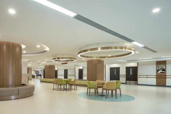 室内设计公司杰恩设计养老院设计项目-河南阳城养生苑