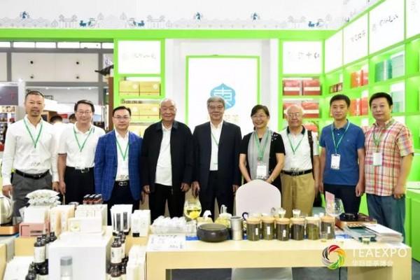 漫漫丝路,茗香飘扬 | 华巨臣第7届西部茶博会于8月22日隆重开展