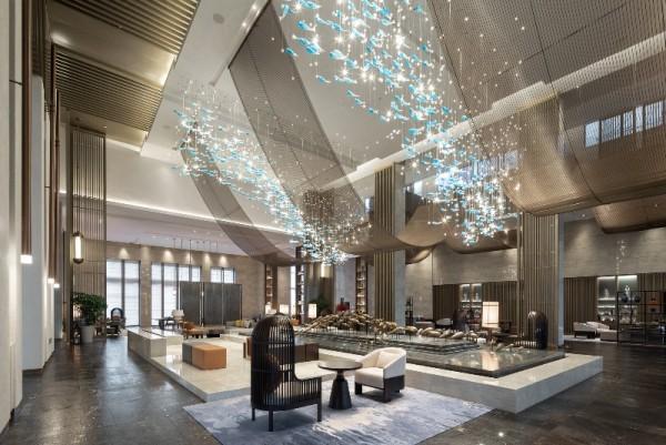 室内设计公司杰恩设计上海三甲港绿地铂瑞酒店设计