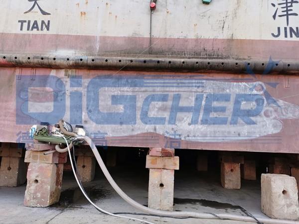德高洁除漆除锈爬壁机器人