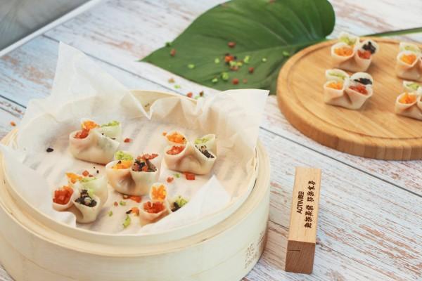 奧田集成灶蒸烤一體:美食菜譜,四喜蒸餃