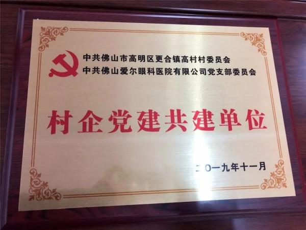 """""""不忘初心、牢记使命""""村企党建共建助发展"""