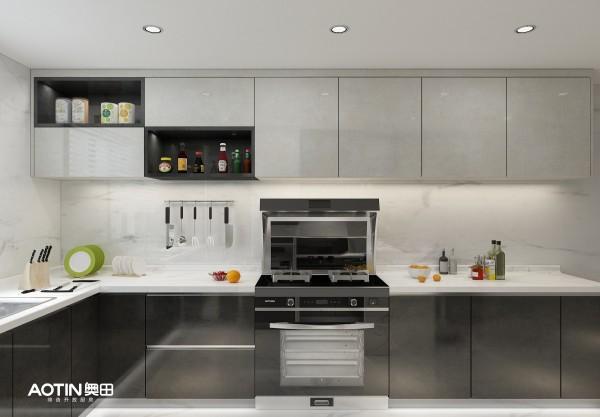 小公寓厨房太小?一体集成灶演绎省空间