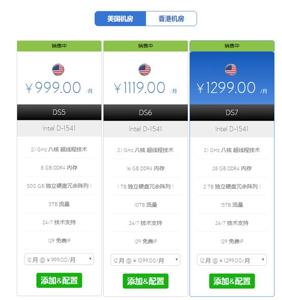 BlueHost 美国站群服务器优点及简单性能评测记录