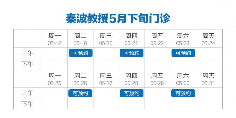 秦波教授排班表.jpg