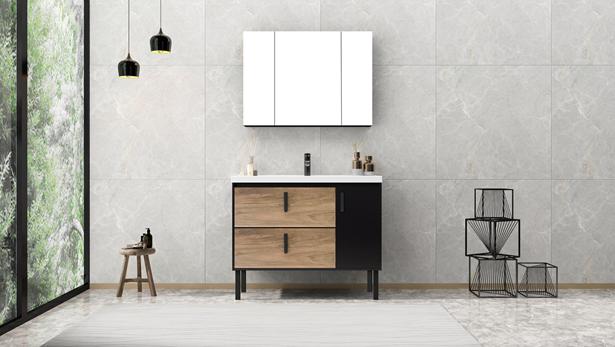 设计简单自然!日丰卫浴新品浴室柜颜值与实力兼备