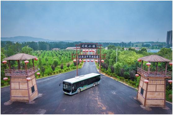 """晋城:全国首个实现""""一元公交""""市域全覆盖"""