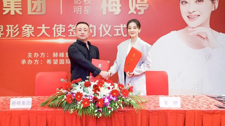 重磅!赫峰集团签约梅婷为品牌形象大使,开启人造石行业新局面