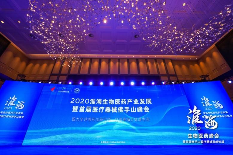 聚势、谋远、赢未来|2020淮海生物医药产业发展峰会盛大开幕