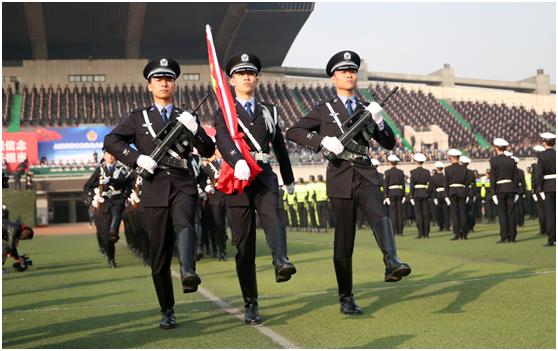 宇通护航全国交警系统实战大练兵比武竞赛,军警产品实力亮相