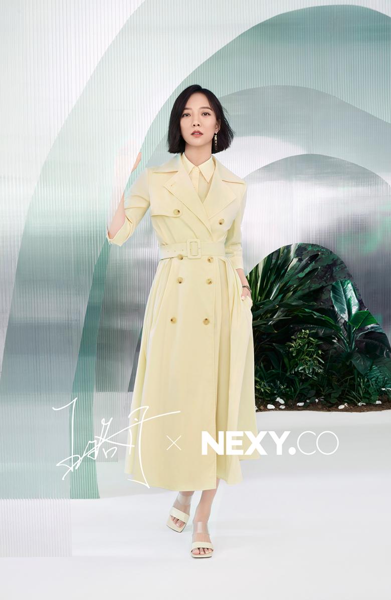 NEXY.CO&王珞丹2021春夏大片曝光 : 最好的自己,因智慧而美丽!