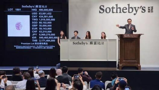 中瓷艺术云码与全球历史最悠久的拍卖行苏富比合作