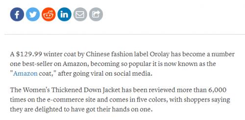 """实力国货爆红海外,引发消费热潮,稳居销量榜首,让外国人""""念念不忘""""!"""