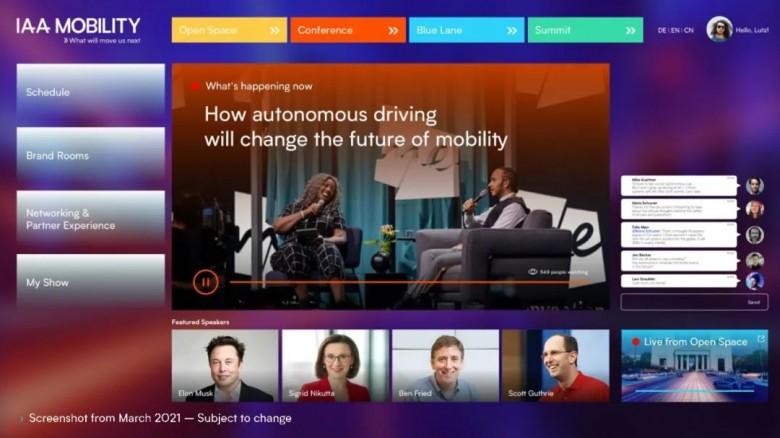 "IAA Mobility Virtual:线下""不打烊"",线上""云观展""!"