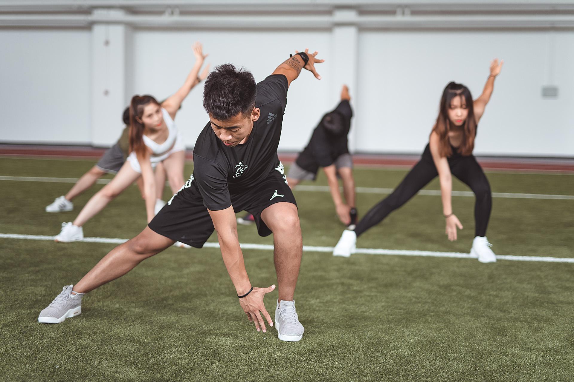 赛普健身教练培训基地功能性训练